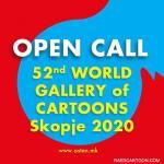 52nd WORLD GALLERY of CARTOONS Skopje/Macedonia 2020