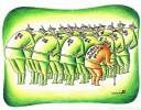 Gallery of Militarism International Cartoon Exhibition 2016 - Part ll